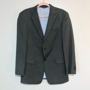 Tommy Hilfiger   Wool Pinstriped Blazer Jacket